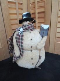Frosty with Shovel
